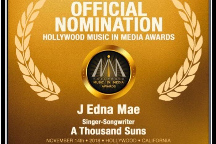 Hollywood Music in Media Nomination