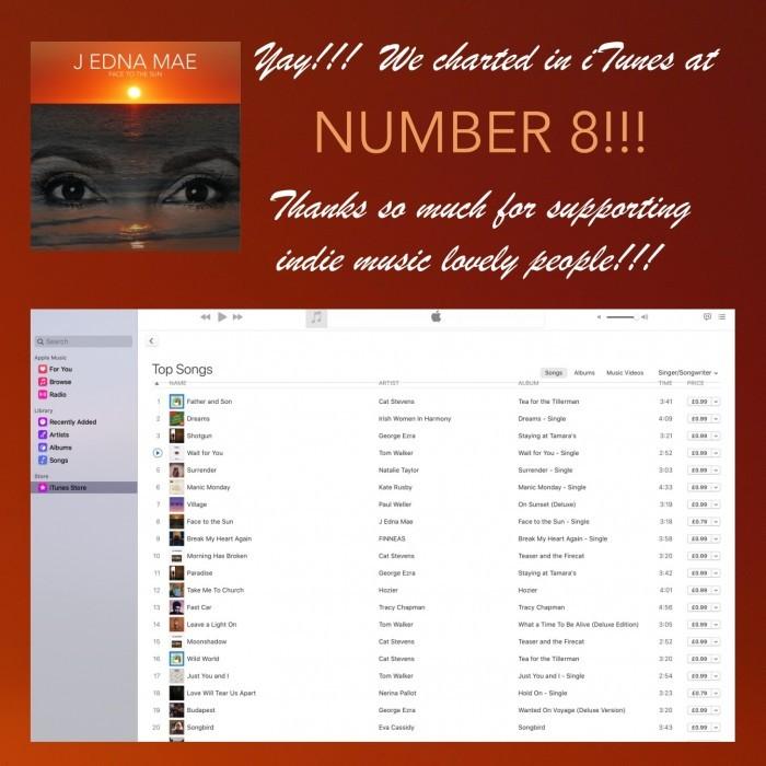 No. 8 in iTunes